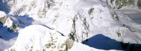 free nature snow in the alps facebook cover