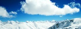 free nature the alps and the sky facebook cover