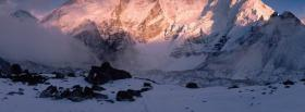 free nature view of the alps facebook cover