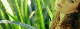 free woman in tall grass facebook cover