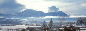 free nature beautiful view and horses facebook cover