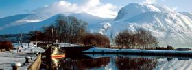 free nature great white mountains facebook cover