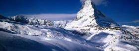 free wintertime season in the mountains facebook cover