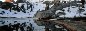 free mountains in lake ediza facebook cover