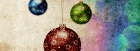 coloful festive embellishments facebook cover