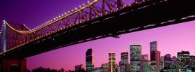 free city brigde brisbane facebook cover