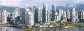 city vancouver horizon facebook cover