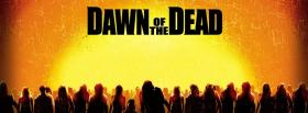 free dawn of the dead zombies walking facebook cover