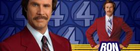 free comedy ron burgundy facebook cover