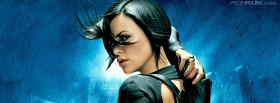 movie aeon flux charlize short hair facebook cover