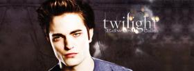 serious edward cullen facebook cover