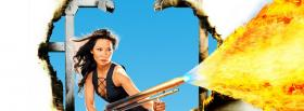 free lucy liu in charlies angels facebook cover