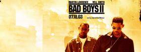 movie bad boys 2 facebook cover