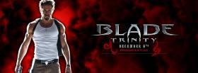 movie blade trinity man standing facebook cover