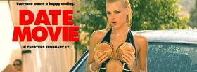 free date movie with hot girl facebook cover