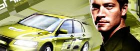 movie 2 fast 2 furious lime car facebook cover