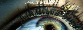 movie aeonflux eye and insect facebook cover