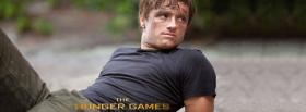 the hunger games peeta mellark facebook cover
