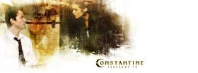 movie constantine woman and man facebook cover