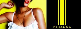 rihanna red lips facebook cover