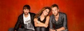 free lady antebellum group music facebook cover