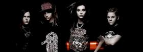 music tokio hotel band facebook cover