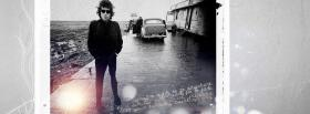 bob dylan outside with car facebook cover