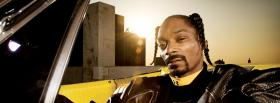 rapper snoop dogg in car facebook cover