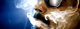 snoop dogg with smoke music facebook cover