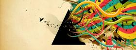 pink floyd triangle rainbow facebook cover