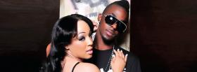 roscoe dash with woman music facebook cover