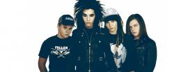 the tokio hotel band together facebook cover
