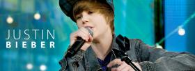 justin bieber singing facebook cover