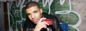drake with camera music facebook cover