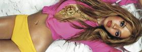 music beyonce with jewellery facebook cover