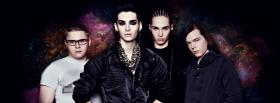 free tokio hotel and starry sky facebook cover