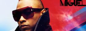 miguel red and blue music facebook cover