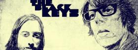 black and white the black keys facebook cover