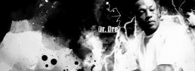 dr dre black and white facebook cover