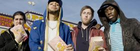 gym class heroes with pop corn facebook cover