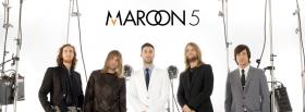 free maroon 5 music group facebook cover
