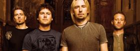rock band nickelback music facebook cover