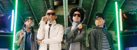 mindless behavior with neons music facebook cover