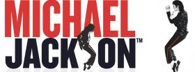 free red and black micheal jackson facebook cover