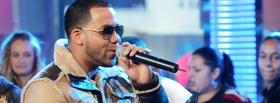 anthony romeo santos singing music facebook cover