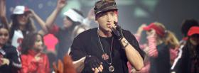 eminem on stage music facebook cover