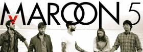 free maroon 5 black and white facebook cover