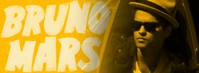 yellow bruno mars facebook cover
