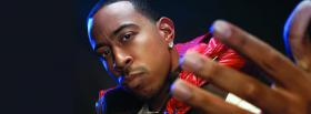 free serious rapper ludacris facebook cover
