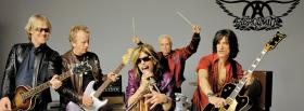 aerosmith band playing music facebook cover